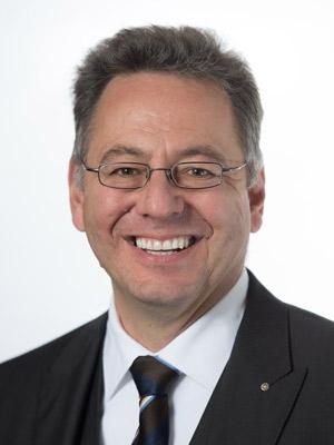 Rudi Alder, Sekretär
